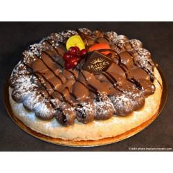 Macaronade chocolat 6 parts