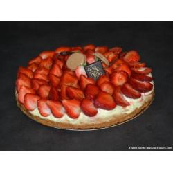 Sablée fraise 4 parts