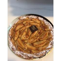 Tarte fine pommes 4 parts