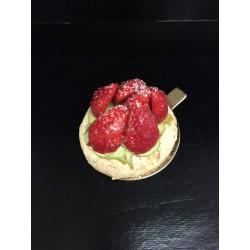Macaronnade fraise