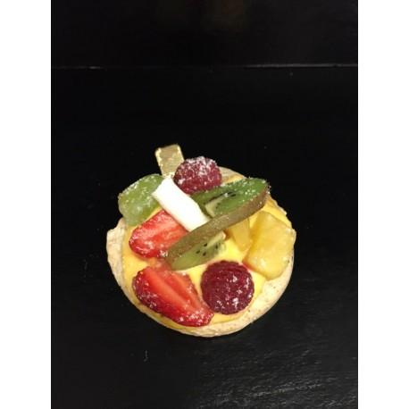 Macaronnade fruits frais