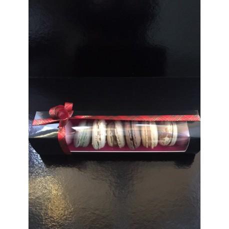 Boîte cadeau 9 macarons assortis