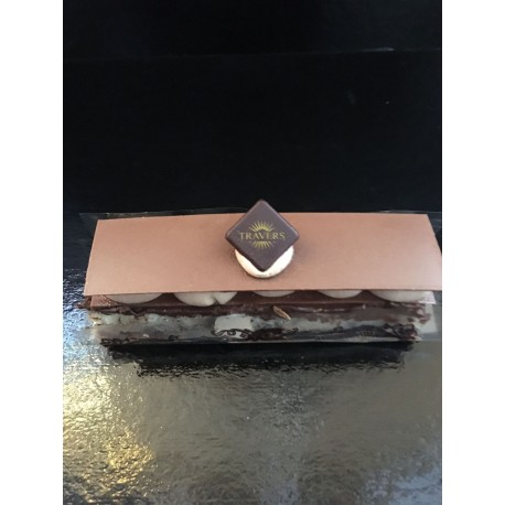 Mille feuille chocolat