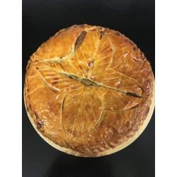 Feuilletée griottes/pistache